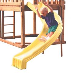 250 lb Yellow Side Winder Play Slide