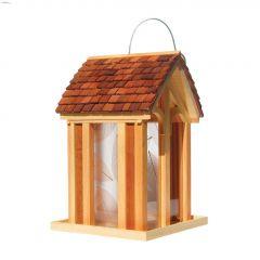 Perky-Pet 3.5 lb Wood Mountain Chapel Feeder