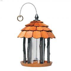 Perky-Pet Birdscapes 2 lb Wood Gazebo Feeder