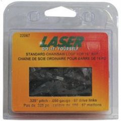 "16"" 0.325"" Pitch 0.050 Gauge 67DL Chainsaw Loop"