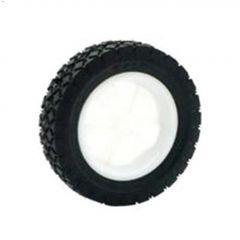 "7"" Lawn Plastic Rim Mower Wheel"
