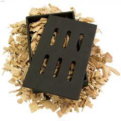 "5"" x 1-1/2"" x 8"" Cast Iron Smoker Box"