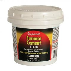 236 mL Tub Black Furnace Cement