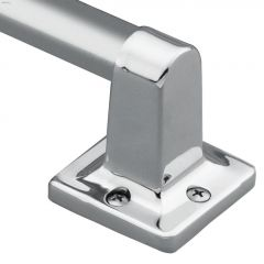 """7\/8\"""" x 24\"""" Stainless Steel Wall Mount Hand Grip"""