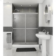 """54 - 59-1\/2\"""" Raindrop 2-Panel Sliding Shower Door"""
