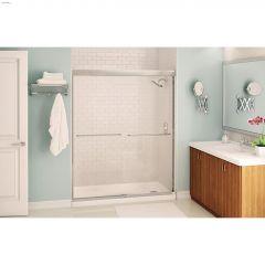 "55 - 59\"" x 71\"" x 6 mm Clear Sliding Shower Door"