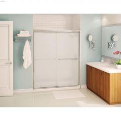 "55 - 59"" x 71"" Mistelite Sliding Shower Door"