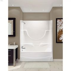Figaro\u2122 II 2-Piece Tub Shower With Roof Cap