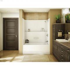 TSEA Plus 1-Piece Tub Shower Without Roof Cap