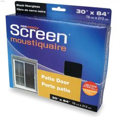 """30"""" x 84"""" Fiberglass Patio Door Screen"""