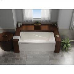 Gloss White Tucson Soaker Bathtub
