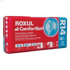 "Rockwool Comfortbatt WS R14 47"" x 15-1/4"" x 3-1/2"" 59.7 sqft"