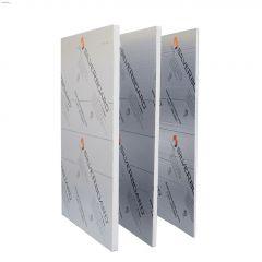 """SilveRboard 8' x 4' x 1/2"""" Faced Rigid Insulation Sheet R2.5"""