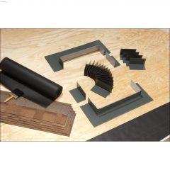 """31-1/2"""" x 56-1/2"""" Grey Step Flashing Kit"""