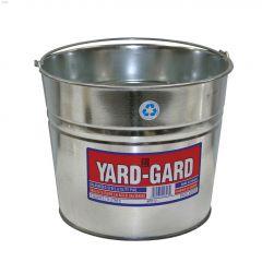 9 L Silver Yard-Gard Water Pail