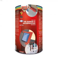 "Red Zone Pro 9"" x 50' Waterproofing Membrane"