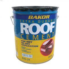 Bakor 20 kg Black Plastic Roof Cement