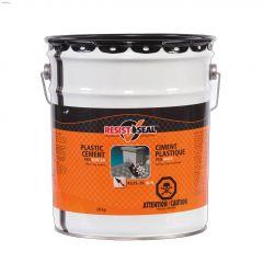 Resistoseal\u2122 RS35-20W 20 kg Black Plastic Cement