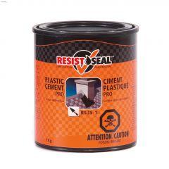 Resistoseal 1 kg Black Plastic Cement