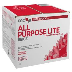 17 L Sheetrock All Purpose Lite Drywall Compound Beige