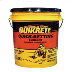 9 kg Pail Quick-Setting Cement