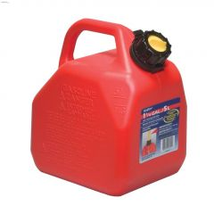 5 L Red HDPE Jerry Gas Can