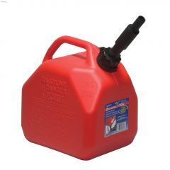 10 L Red HDPE Jerry Gas Can