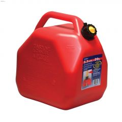 20 L Red HDPE Jerry Gas Can