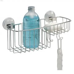 Reo Power Lock Silver Suction Combo Basket