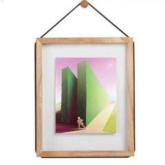 "Corda 15-1/4"" x 12-1/2"" x 3/4"" Natural Wood Photo Frame"