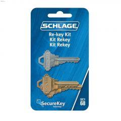 Schlage 68/SC1 Secure Reset Key Kit