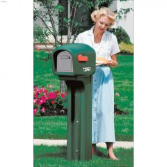 Mailmaster Green Poly Heavy Duty International Mailbox