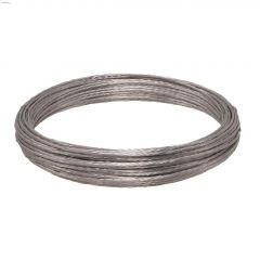20 Gauge x 100' Galvanized Stranded Wire