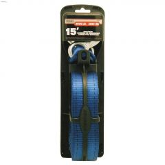 """15' x 2"""" Polyester Blue Tow Strap"""