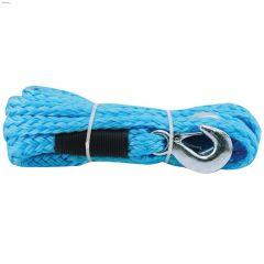 "14' x 7/8"" Braided Polypropylene Blue Tow Rope"