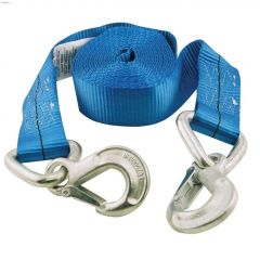 """20' x 2"""" Polyester Blue Tow Strap"""