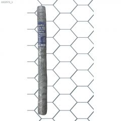 """1"""" x 36"""" x 50' Hot Dipped Galvanized Poultry Netting"""