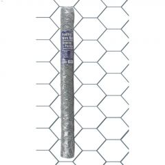 """2"""" x 36"""" x 50' Hot Dipped Galvanized Poultry Netting"""