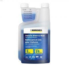 1 qt Bottle Blue Vehicle Wash & Wax