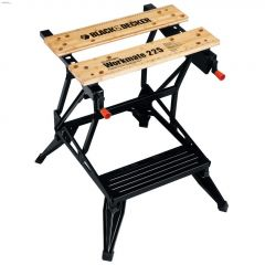 "Workmate 9-11/16"" x 24"" 450 lb Work Center & Vise"