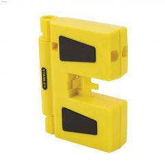 """6-1/8"""" Yellow 3 Vial Magnetic Post Level"""