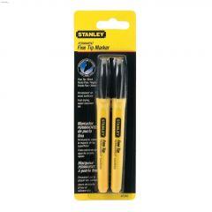 Black Permanent Marker-2/Pack