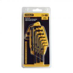 10-Piece SAE Hex Key Set