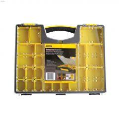 25-Compartment Yellow/Black Professional Organizer