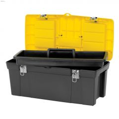 """24"""" Yellow/Black 2000 Series Toolbox With Tray"""