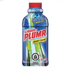 Liquid-Plumr Urgent Clear 502 mL Clog Remover