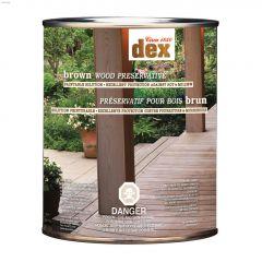 Dex Brown Wood Preservative 946 mL