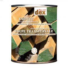 Dex Green End Cut Below Grade Wood Preservative 946mL
