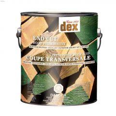 Dex Green End Cut Below Grade Wood Preservative 3.78L