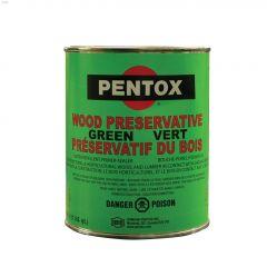 946 mL Green Pentox Wood Preservative